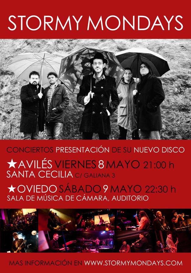 New album – Live premiere in Asturias, Spain