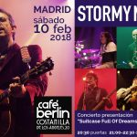 Concert in Madrid: Saturday Feb 10th at Café Berlín